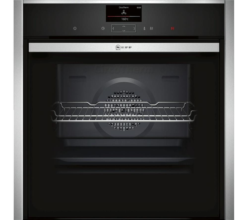 Compare retail prices of Neff B57CS24N0B Slide and Hide Electric Oven to get the best deal online