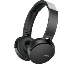 SONY MDR-XB650BT Wireless Bluetooth Headphones - Black