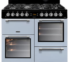 LEISURE Cookmaster CK100F232B Dual Fuel Range Cooker - Blue Best Price, Cheapest Prices