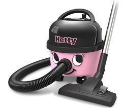 Hetty HET.160-11 Cylinder Vacuum Cleaner – Pink