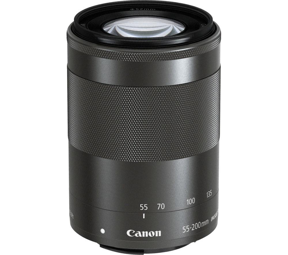 CANON EF-M 55-200mm f/4.5-6.3 Standard Zoom Lens