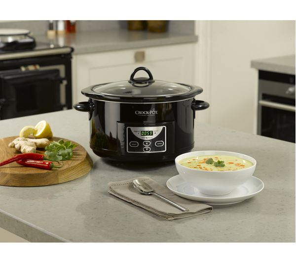 0e89d6d51582 Buy CROCK-POT SCCPRC507B-060 Slow Cooker - Black | Free Delivery ...