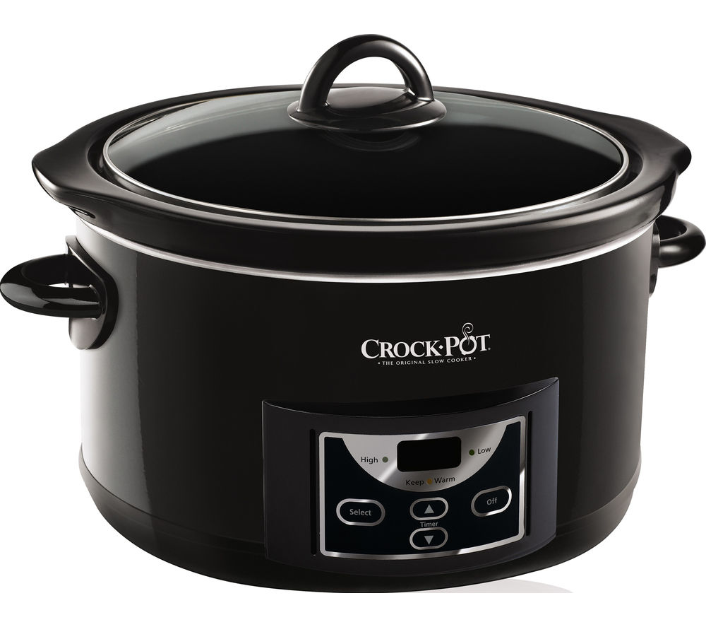 45682089eec0 Buy CROCK-POT SCCPRC507B-060 Slow Cooker - Black | Free Delivery | Currys
