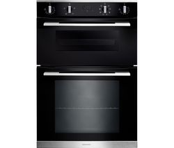 RMB9048BL/SS Electric Double Oven - Black & Stainless Steel