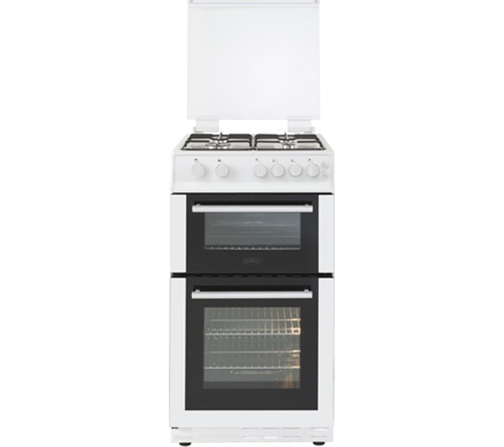 BELLING FS50GDOL 50 cm Gas Cooker - White & Black