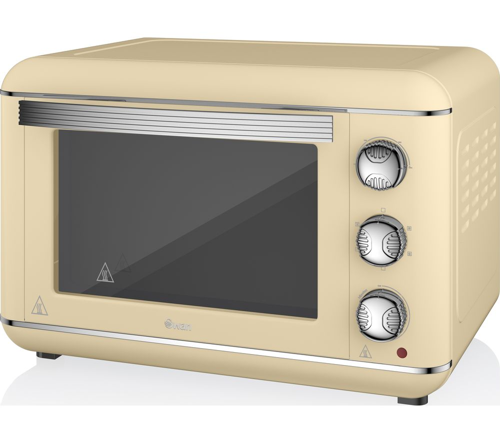 SWAN Retro SF37010CN Electric Oven - Cream