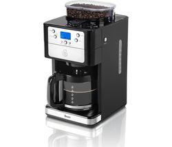 SWAN SK32020N Filter Coffee Machine - Black