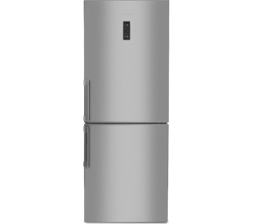 hotpoint nffud 191 x 60 40 fridge freezer silver silver. Black Bedroom Furniture Sets. Home Design Ideas