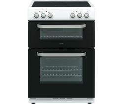 LOGIK LDOC60W17 Electric Cooker - Black & White