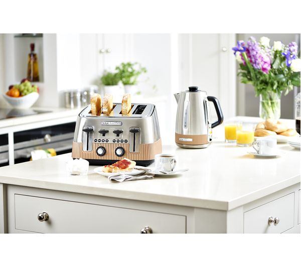 Buy Tefal Avanti Classic Tt780f40 4 Slice Toaster Copper