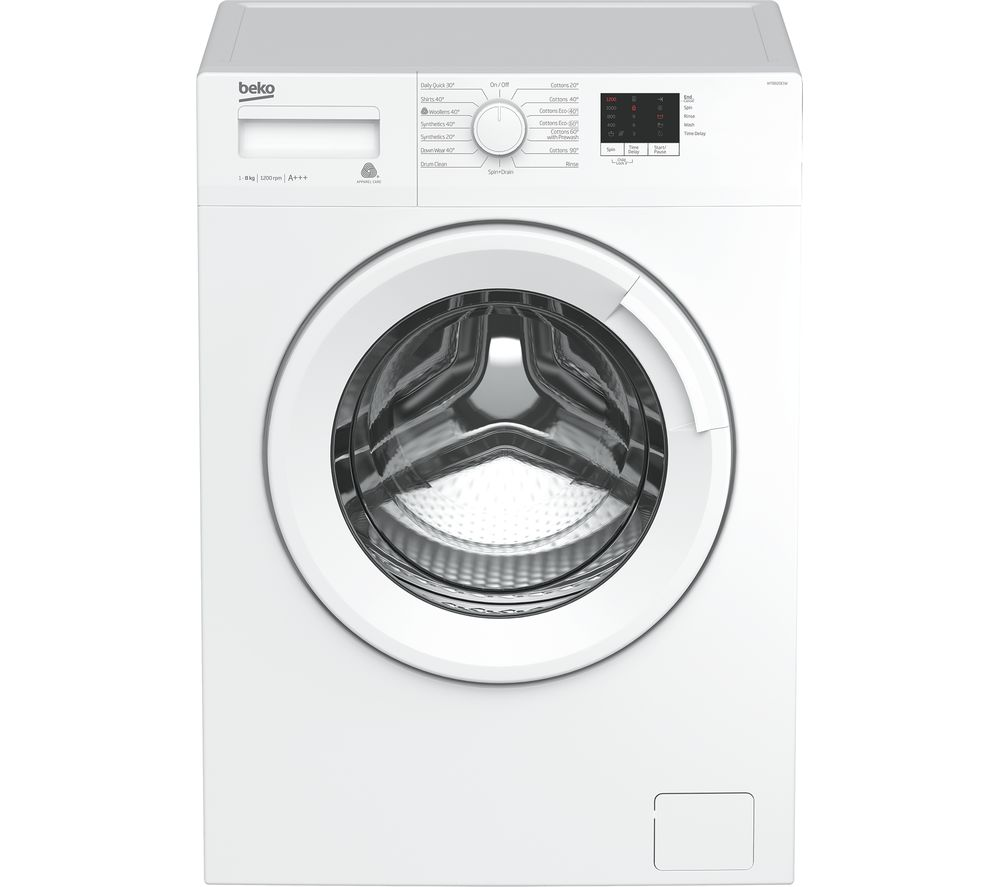 BEKO WTB820E1W 8 kg 1200 Spin Washing Machine - White