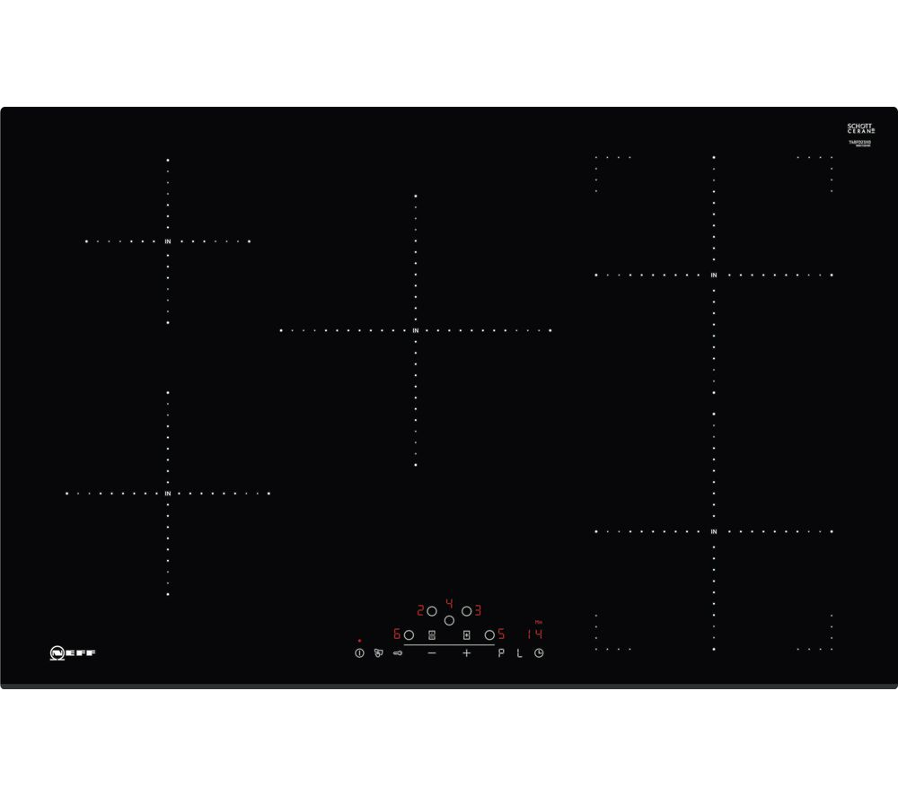 NEFF T48FD23X0 Electric Induction Hob - Black