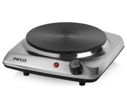 PIFCO P15003 Single Boiling Ring - Stainless Steel