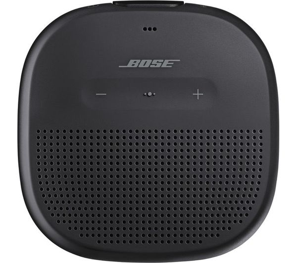 Image of BOSE Soundlink Micro Portable Bluetooth Speaker - Black