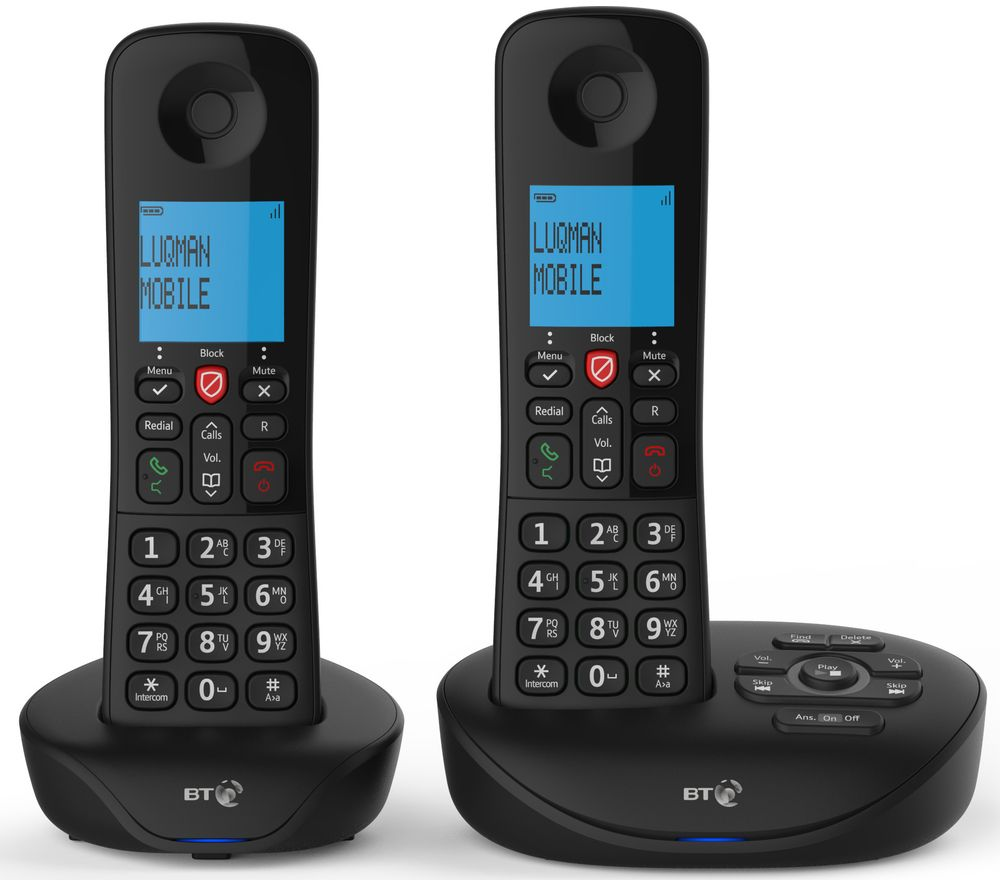 Bt Essential Cordless Phone Twin Handsets
