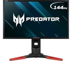 "ACER Predator XB241H Full HD 24"" TN Monitor - Black & Red"