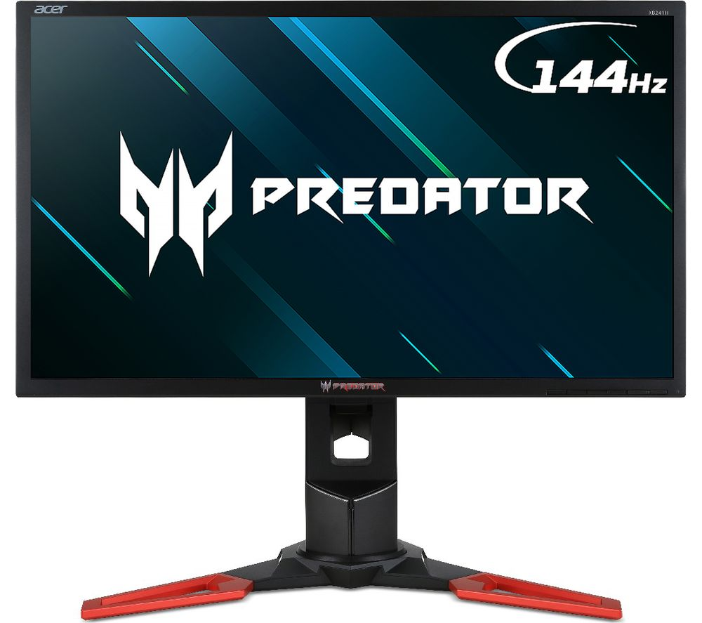 Compare prices for Acer Predator XB241H Full HD 24 Inch TN Monitor - Black