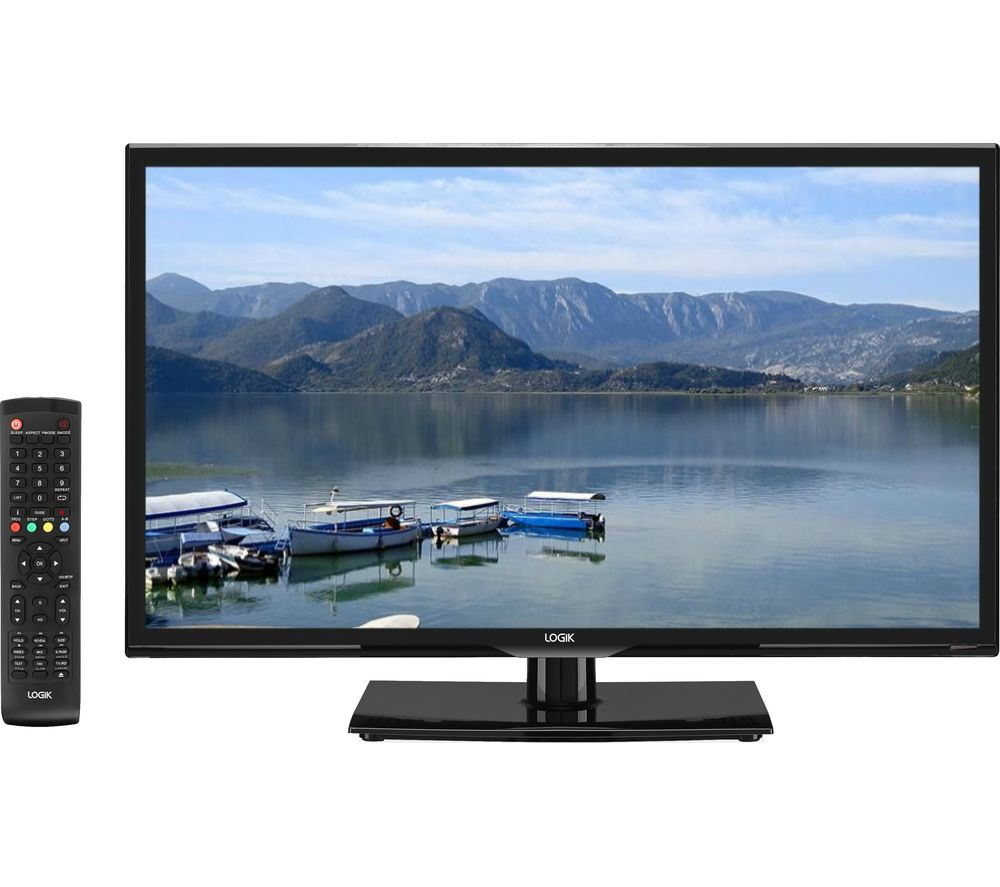 """32""""  LOGIK L32HE18 LED TV, Gold"""