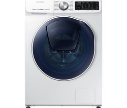 SAMSUNG WD80N645OOW/EU Smart 8 kg Washer Dryer - White
