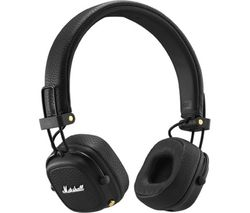 Major III Wireless Bluetooth Headphones - Black