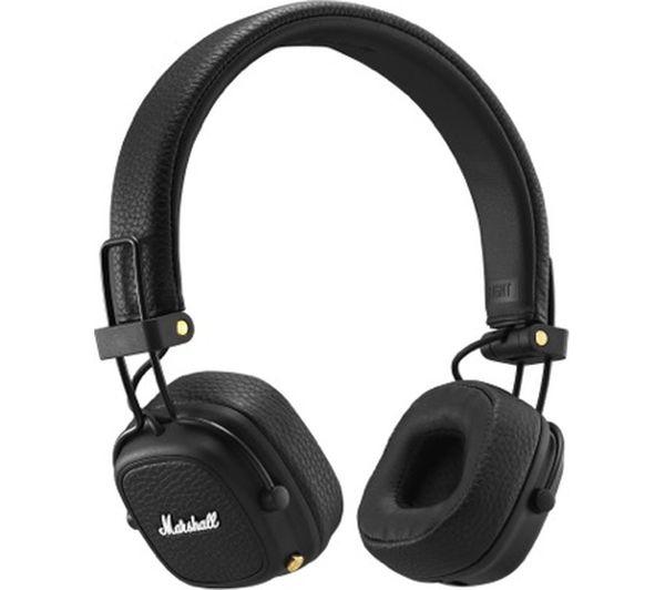 Image of MARSHALL Major III Wireless Bluetooth Headphones - Black
