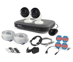 SWANN SWDVK-449802-UK 4-Channel 5 MP Smart Home Security System - 2 Cameras