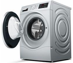 BOSCH Serie 6 WDU28568GB 10 kg Washer Dryer - Silver