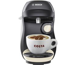 by Bosch Happy TAS1007GB Coffee Machine - Cream