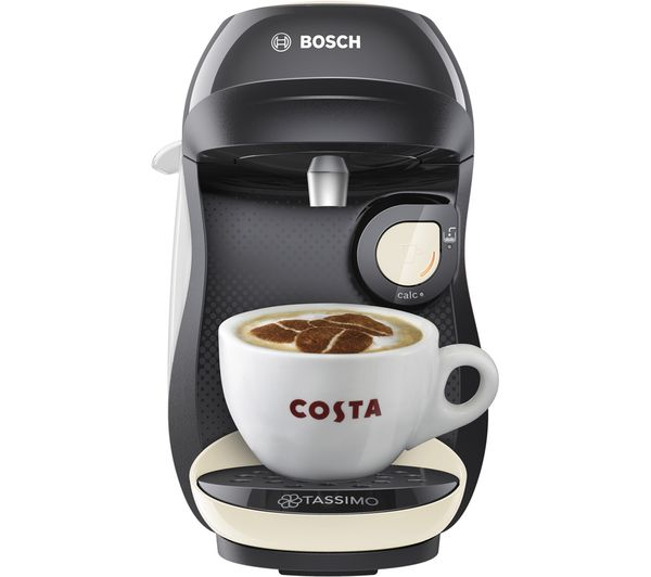 Image of TASSIMO by Bosch Happy TAS1007GB Coffee Machine - Cream