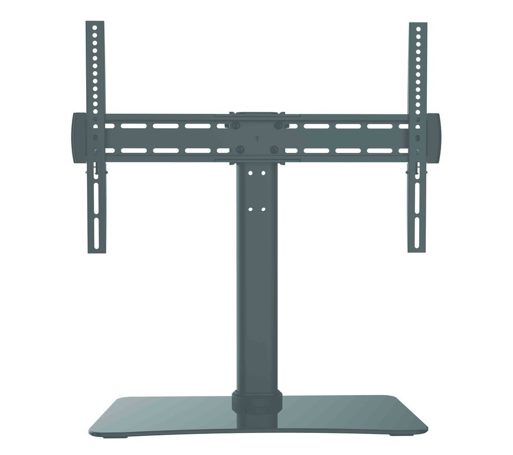 STSTAB19 700 mm TV Stand with Bracket - Black, Black