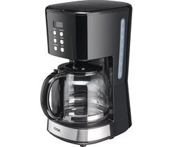 LOGIK L14DCB19 Filter Coffee Machine - Black
