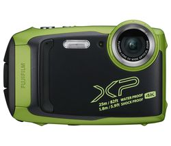 FUJIFILM FinePix XP140 Tough Compact Camera - Lime