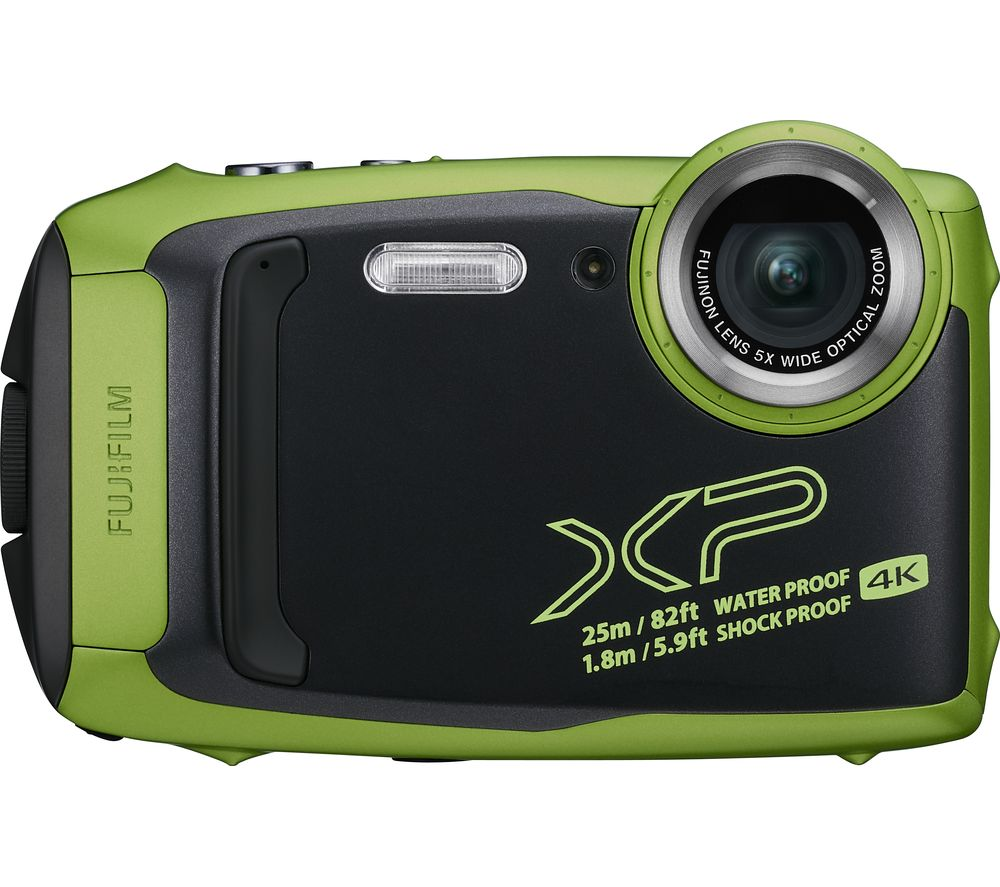Click to view product details and reviews for Fujifilm Finepix Xp140 Tough Compact Camera Lime Lime.