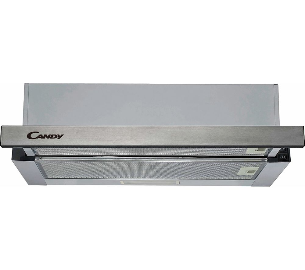 CANDY CBT625/2X Telescopic Cooker Hood - Stainless Steel, Stainless Steel