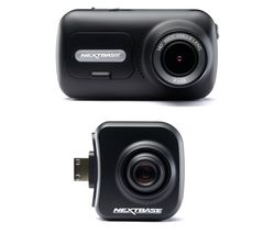 NEXTBASE 322GW Full HD Dash Cam & Cabin View Dash Cam Bundle - Black