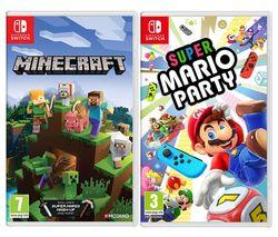 Minecraft & Super Mario Party Bundle