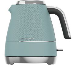 Cosmopolis WKM8307T Jug Kettle - Blue & Chrome