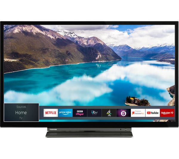 "TOSHIBA 24WL3A63DB 24"" Smart HD Ready LED TV"