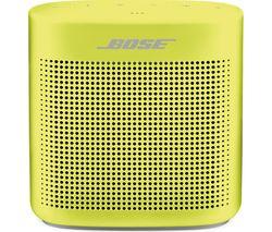 BOSE Soundlink Color II Portable Bluetooth Wireless Speaker - Citron