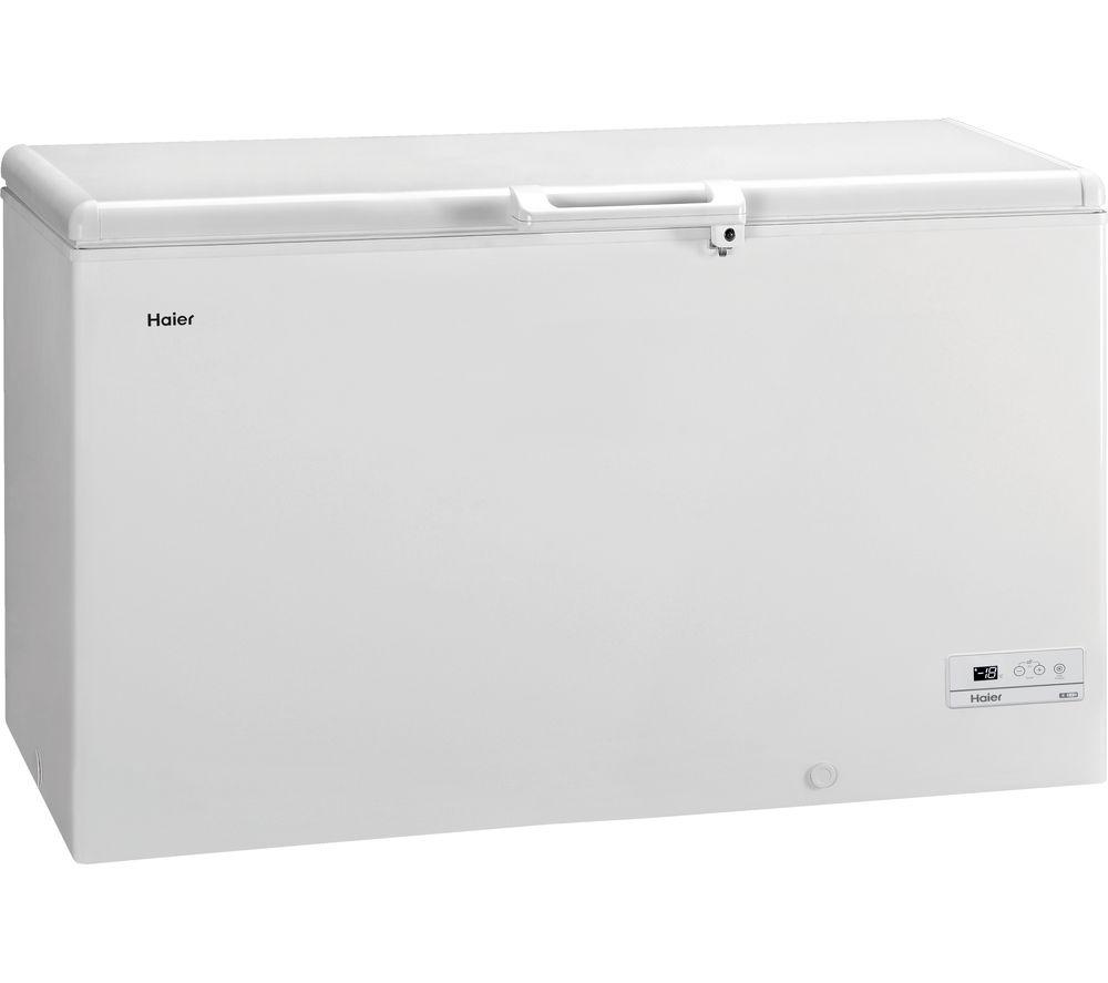 HAIER HCE429R Chest Freezer - White