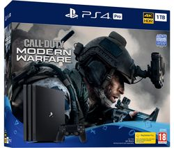 SONY PlayStation 4 Pro with Call of Duty: Modern Warfare - 1 TB