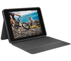 "Rugged 10.2"" iPad Keyboard Folio - Black"