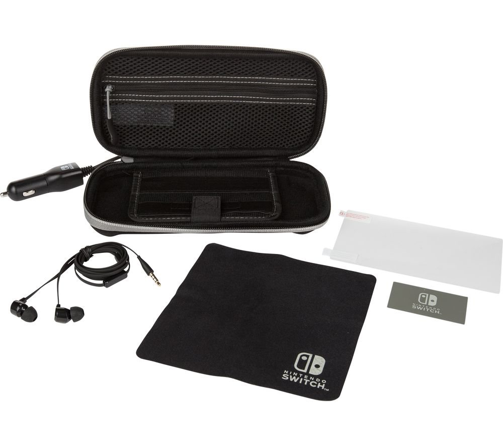 POWERA Nintendo Switch Lite Travel Protection Kit - Black, Black