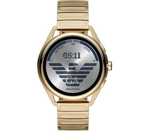 Image of EMPORIO ARMANI ART5027 Smartwatch - Gold, 44.5 mm