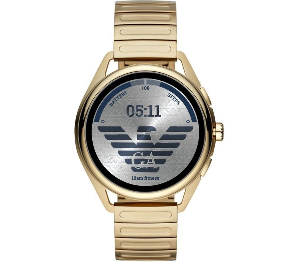 Image of EMPORIO ARMANI ART5027 Smartwatch - Gold, 44.5 mm, Gold