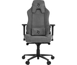 Vernazza Soft Fabric Gaming Chair - Ash