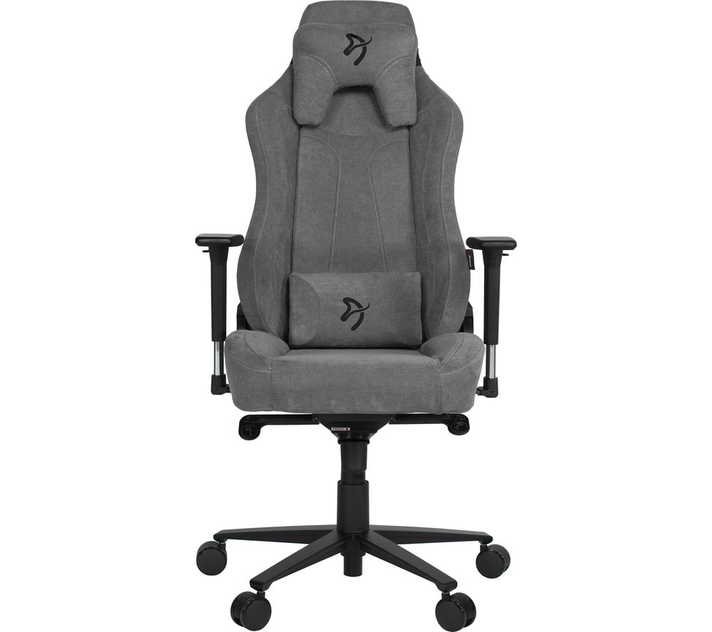 Image of AROZZI Vernazza Soft Fabric Gaming Chair - Ash