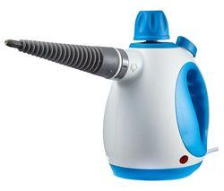 T134000 Handheld Steam Cleaner - Blue & White