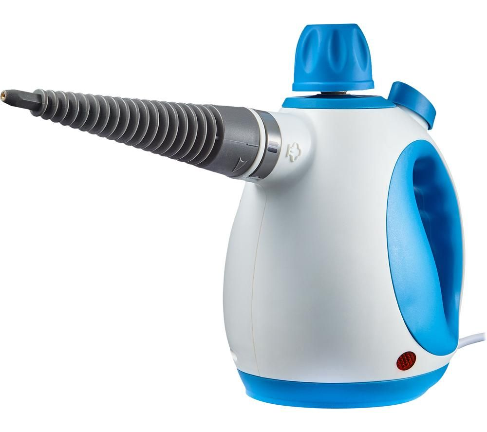 TOWER T134000 Handheld Steam Cleaner - Blue & White, Blue