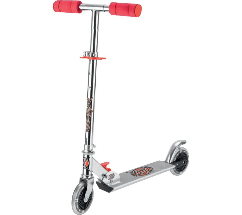 XOOTZ TY5716 Kick Scooter - Red & Silver